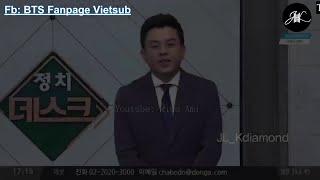 [Vietsub] BTS News -Bản tin chính trị Hàn Quốc- BTS nhận Huân Chương Văn hóa Hàn Quốc