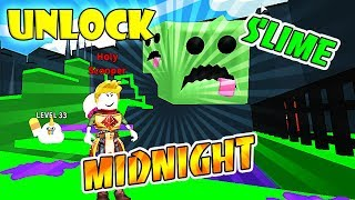 UNLOCK MIDNIGHT & SLIME PORTAL IN ROBLOX Ice Cream Simulator