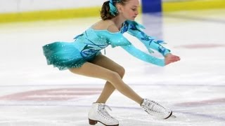 Mikayla Chapman figure skating to Yiruma, A River Flows In You