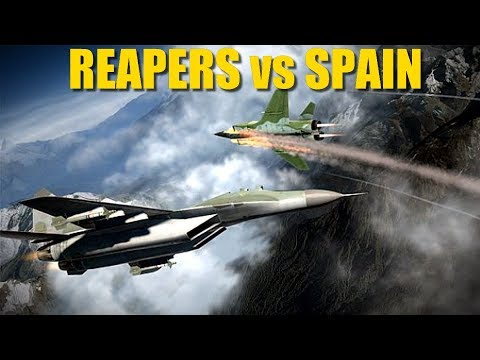 Catalunya Campaign: HUGE Air Battle As Reapers Clash With Spanish Air Force! | DCS
