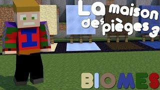 Minecraft - La Maison Des Pièges 3 - BIOMES : Mon Passage En FaceCam !