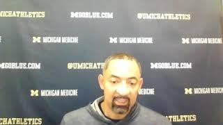 Juwan Howard - Ball State Postgame - Michigan Wolverines Basketball
