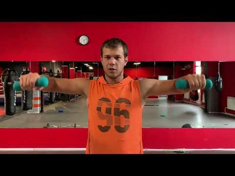 Не каждый боксер выдержит этот комплекс, упражнения на плечи
