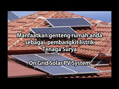 panel surya solusi hemat listrik