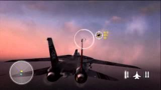 Top Gun: Hard Lock - HD Gameplay Xbox 360