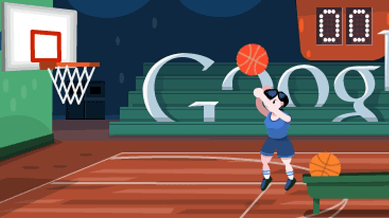 London 2012 Basketball Google Doodle Youtube