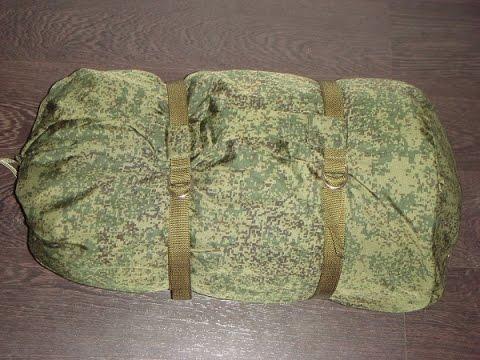 Армейский спальный мешок БТК групп
