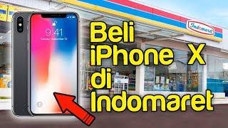 BELI iPHONE X di INDOMARET!! Prank Indonesia Yudist Ardhana!!