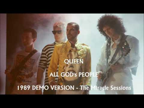 QUEEN - All God's People (demo) 1989 THE MIRACLE SESSION
