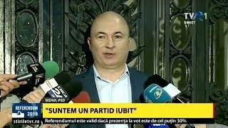 Declaraţii Codrin Ștefănescu, PSD, după ce referendumul pentru definirea familiei nu a fost validat