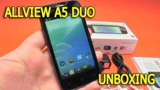 Allview A5 Duo unboxing - Mobilissimo.ro