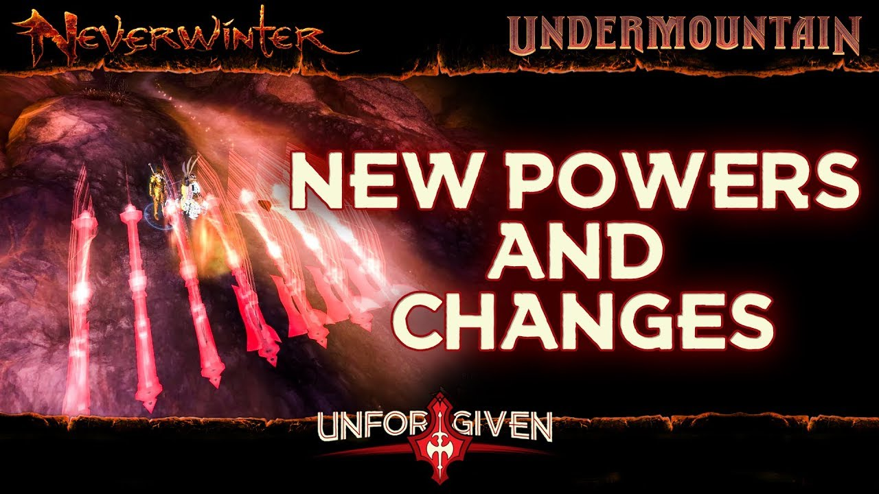 Neverwinter Mod 16 - Barbarian Changes 1st Patch New Powers Feats Blademaster Unforgiven (1080p)