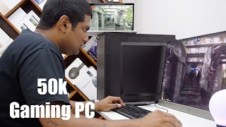 50,000 Rupee Gaming PC Build - Gaming & Benchmarks!