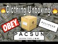 😤PACSUN Clothing Unboxing!😤 | Obey, Bullhead Denim Co., & More!