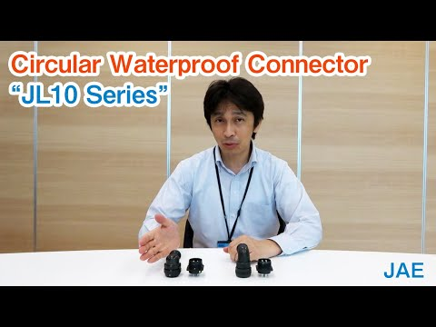 JL10 Series (One-touch/ Screw Compatible Waterproof Connector)