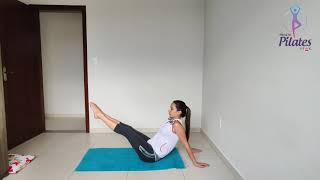 PILATES EM CASA | MAT 34 -HIP TWIST WITH STRETCHED ARMS | PILATES UFMG