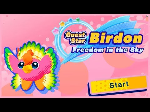Kirby Star Allies   Guest Star Birdon : Freedom in the Sky (No Commentary Playthrough)