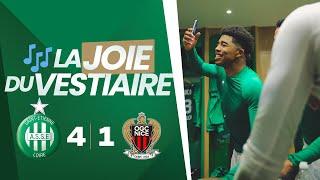 VIDEO: ASSE 4-1 Nice : la scène de joie du vestiaire