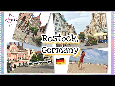 Rostock Germany: Places to see: St. Mary's Church, Wernemünde Beach, Duty Free at Rostock & more..