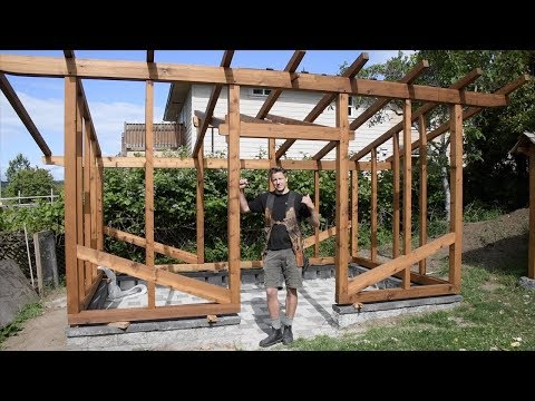 WOODWORKING, Building a Timber Frame Greenhouse