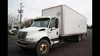 INTERNATIONAL  4300  2007 CAMION A VENDRE FOR SALE UNITE #  5195