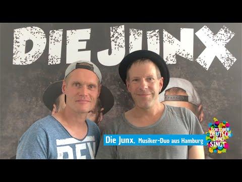 """Christopher und Gunnar von """"Die Junx"""" aus Hamburg unterstützen unsere """"Deutschland singt""""-Aktion"""