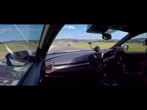 JDMyard Stock FK8 Civic Type R testing - Wakefield Park 1:09.3!