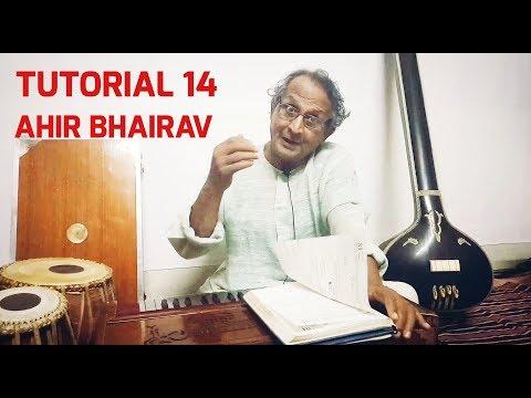 Saregama | Tutorial 14 | Aloke Kumar Ghoshal | How to Learn Classical Music | Aahir Bhairav thumbnail
