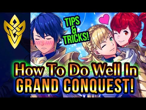 Grand Conquest Guide - How To Do Well In FEH GC Tips & Tricks! | Fire Emblem Heroes