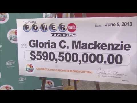 Florida Lottery announces $590 million Powerball winner