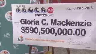 Florida Lottery announces $590 million Powerball winner