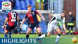 Video Gol Pertandingan Genoa vs Sassuolo