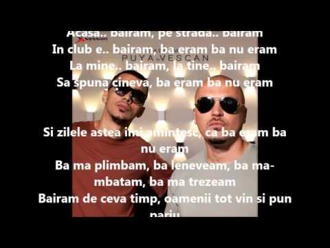 Puya si Vescan - Baeram Versuri (Lyrics)