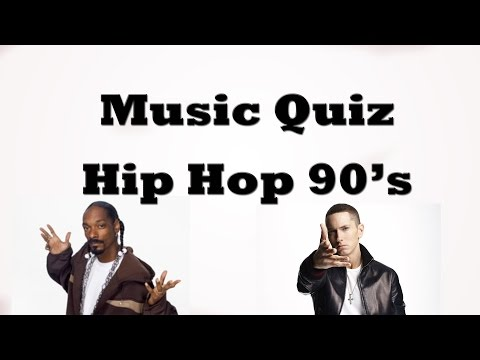 Music Quiz - Hip-hop 90's