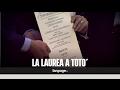 Napoli celebra Totò: laurea honoris causa dalla Federico II su proposta di Renzo Arbore
