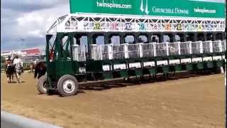 Churchill Downs Starting Gate 6-28-2014 Race 9