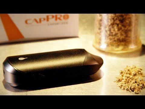 Flowermate Cap Pro Dry Herb Vaporizer Review