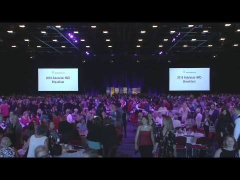 Adelaide IWD Breakfast Live Stream
