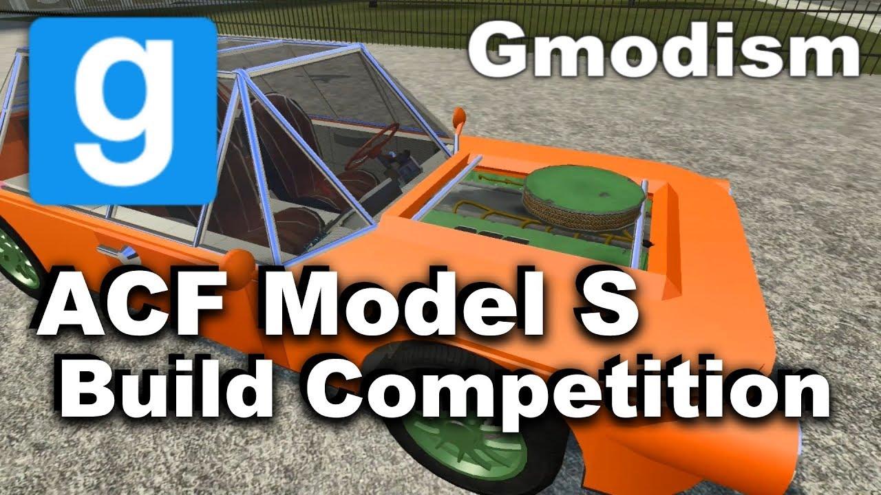 Garry's Mod - ACF Car Build & Modification Competition
