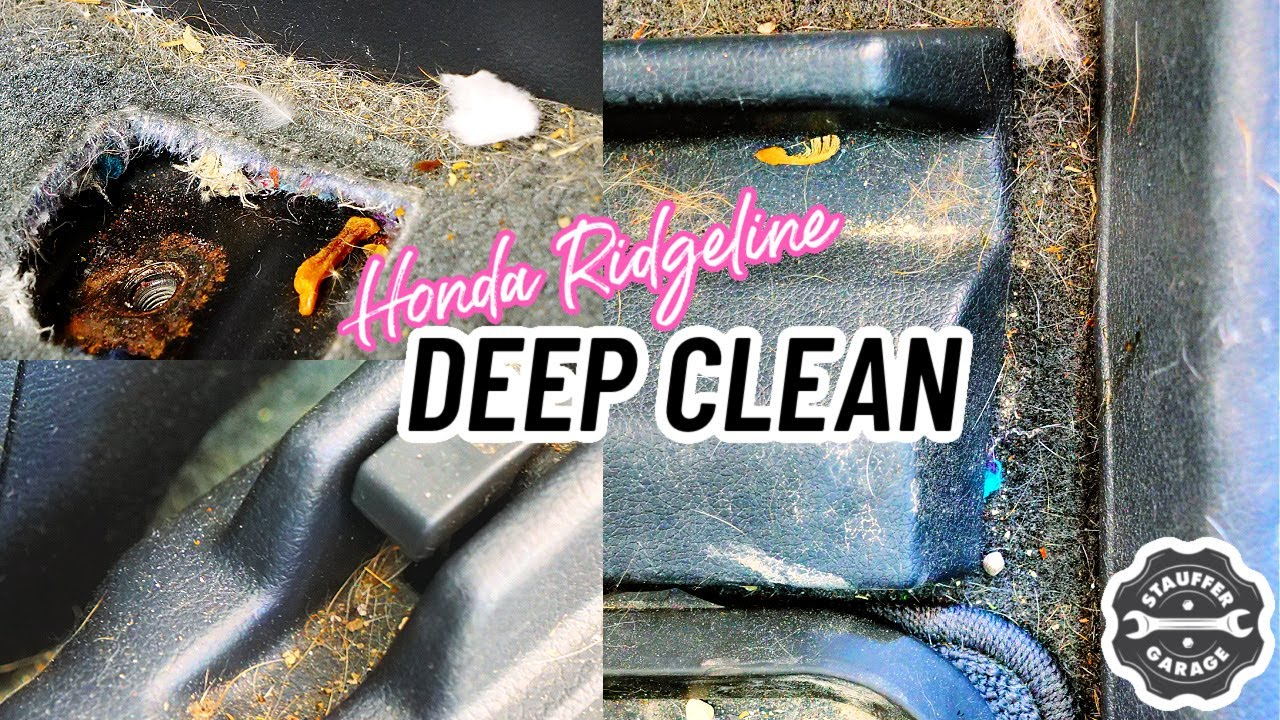 Complete Disaster Detailing A Nasty Honda Ridgeline || Before and After Transformation Car Detailing