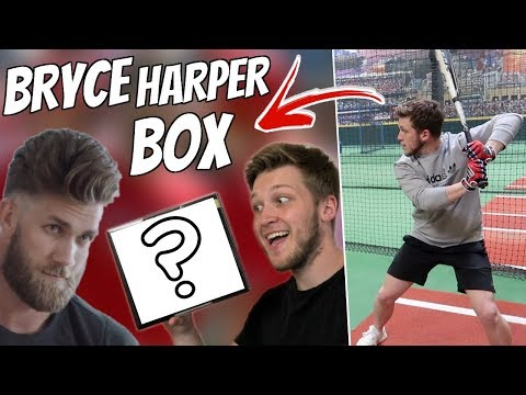 BRYCE HARPER SENT ME A MYSTERY BOX TO TEST OUT!?