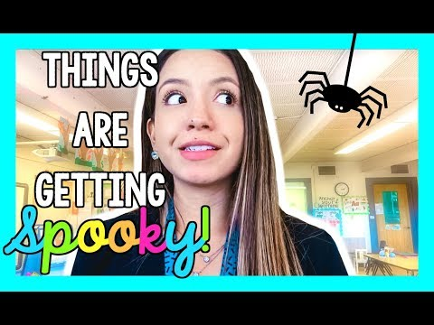 Things are Getting Spooky! | Teacher Vlog Ep.14