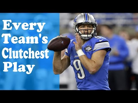 Every Team's Clutchest Play of the Season | NFL 2016-17