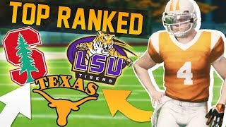 Top Ranked Schools Make us Offers // NCAA 14 Road to Glory #2