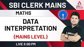 SBI Clerk Mains 2020 | Data Interpretation (Mains Level) | Maths for SBI Clerk Mains Preparation