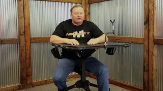 Muddy Swivel Action Shooting Bench Muddy Outdoors Product