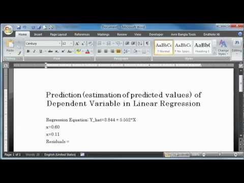Predicted Values