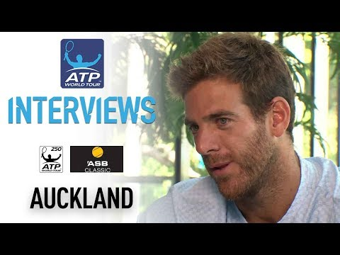 Watch: Del Potro Discusses 2018 Goals, Possible Return To Top 10 Auckland 2018