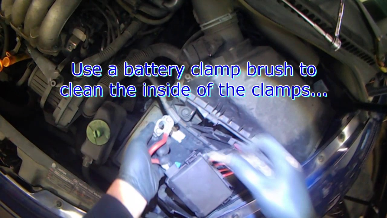 vw a4 new beetle battery removal replacement [ 1280 x 720 Pixel ]