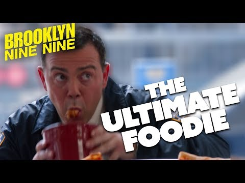 Charles Boyle THE ULTIMATE FOODIE   Brooklyn Nine-Nine   Comedy Bites